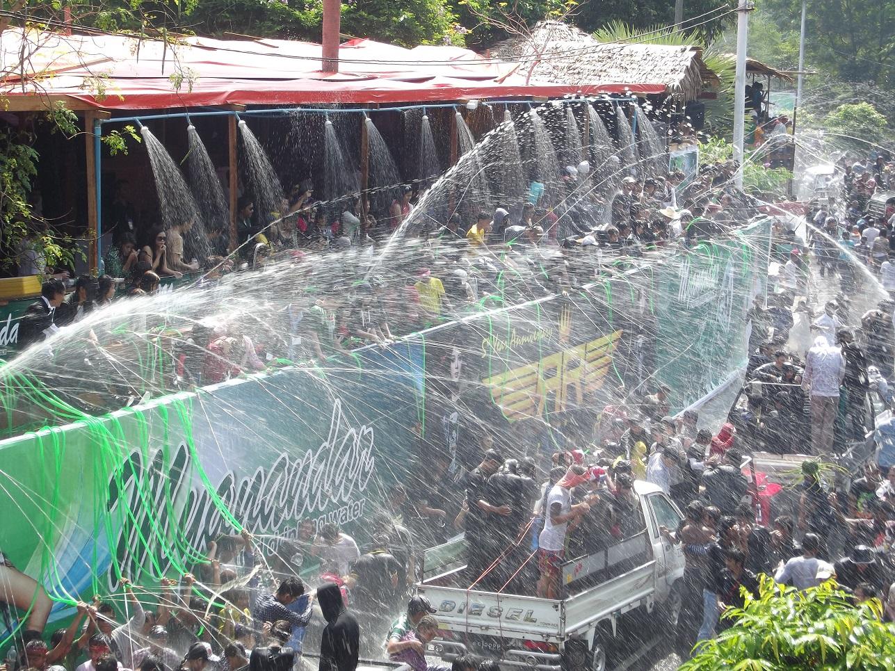 Thingyan (Myanmar Water festival)