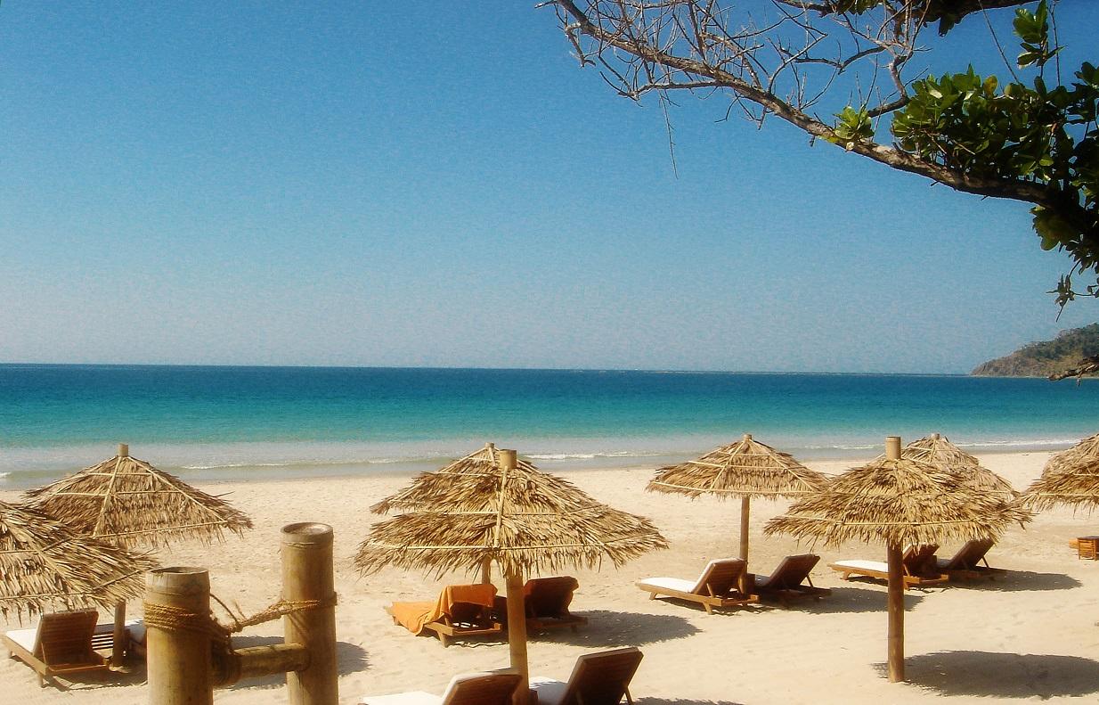 Beach Break in Ngapali Beach.