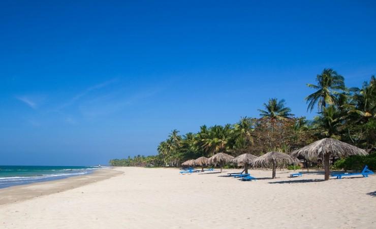 Beach break in Ngwe Saung Beach Myanmar