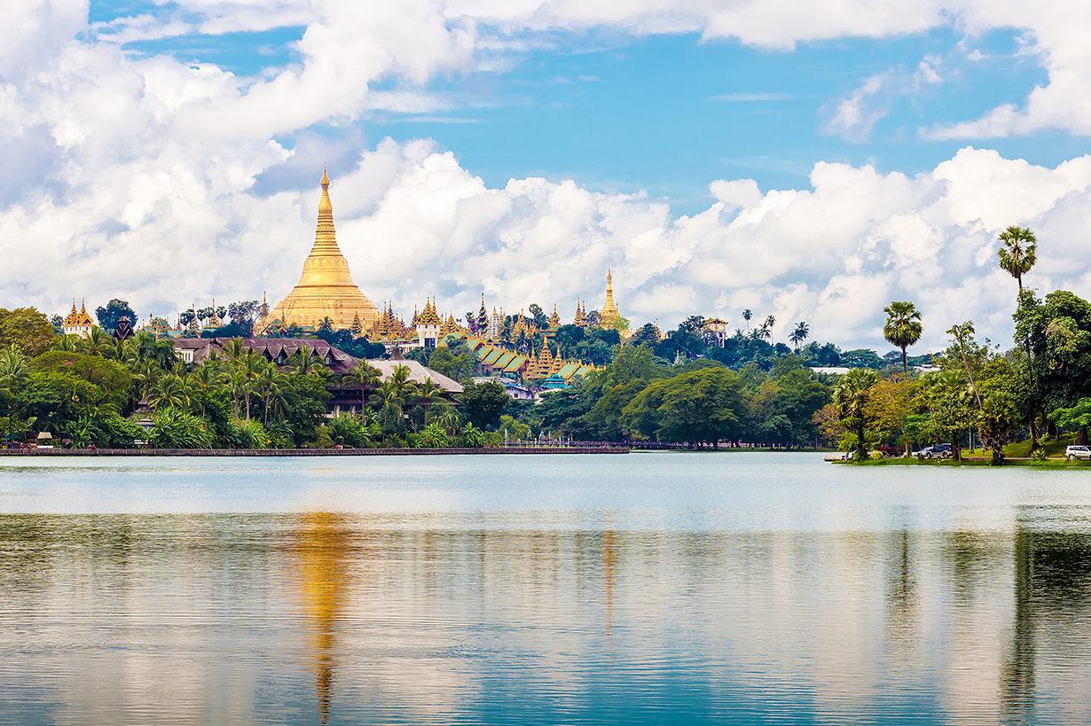 Good weather in Yangon