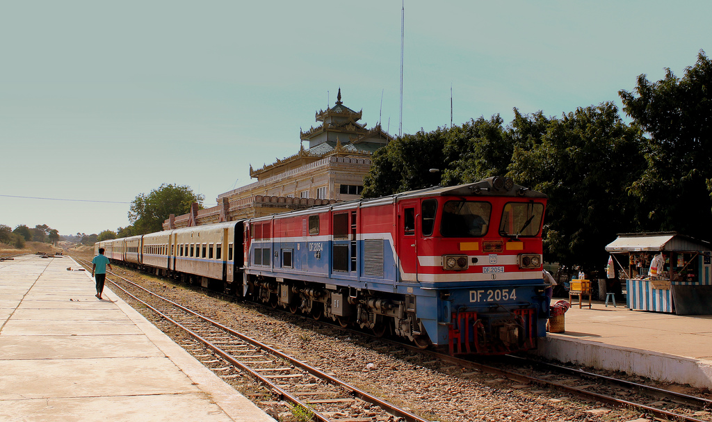getting to Bagan by train
