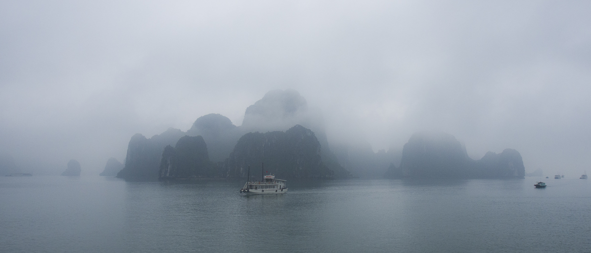 Halong in the clouds
