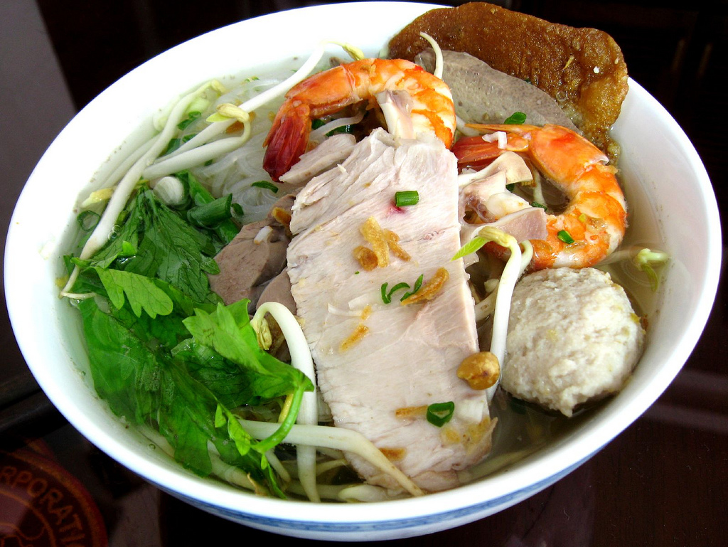 The delicious¨Hủ tiếu¨