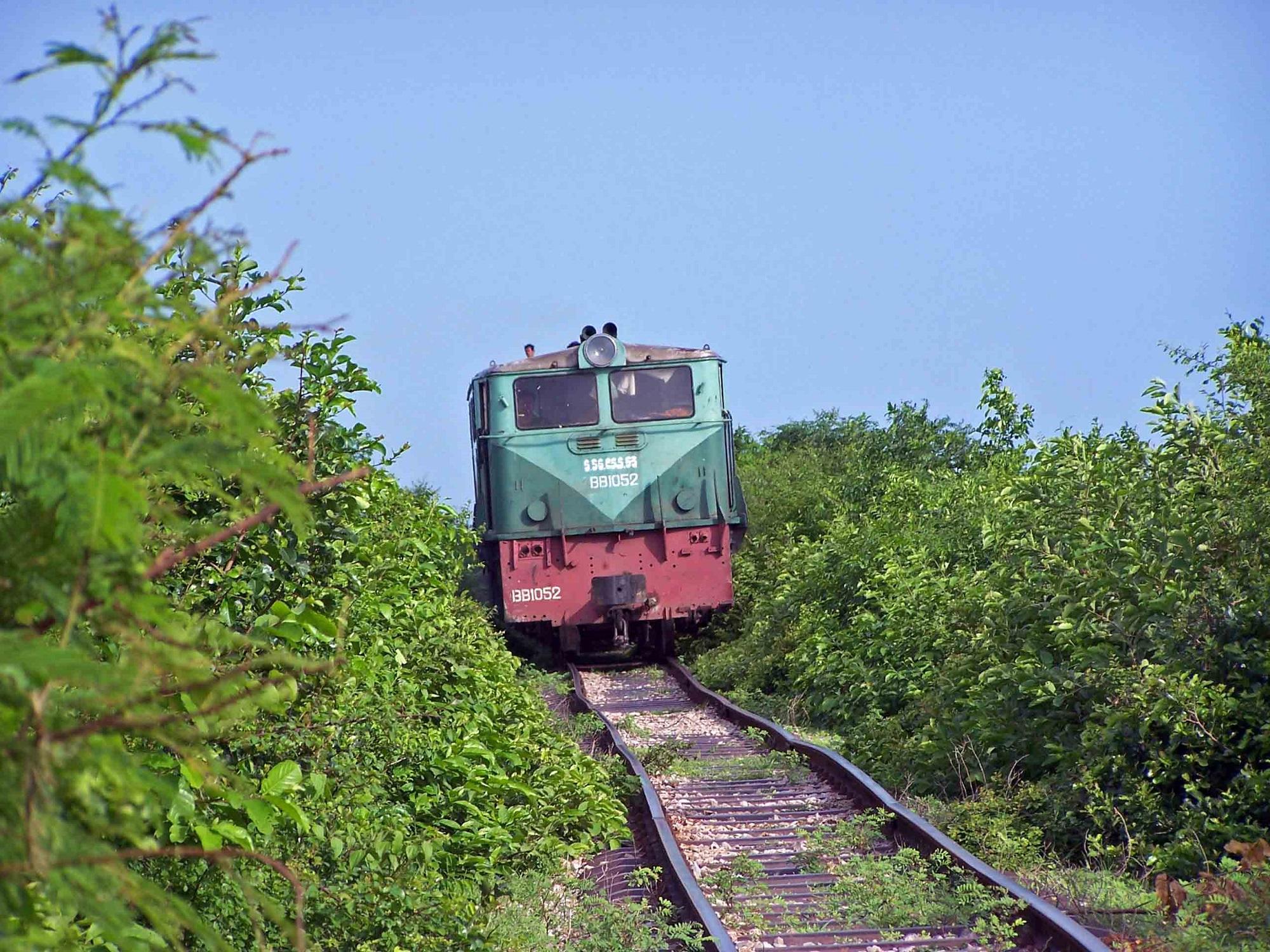 Rail way in Cambodia