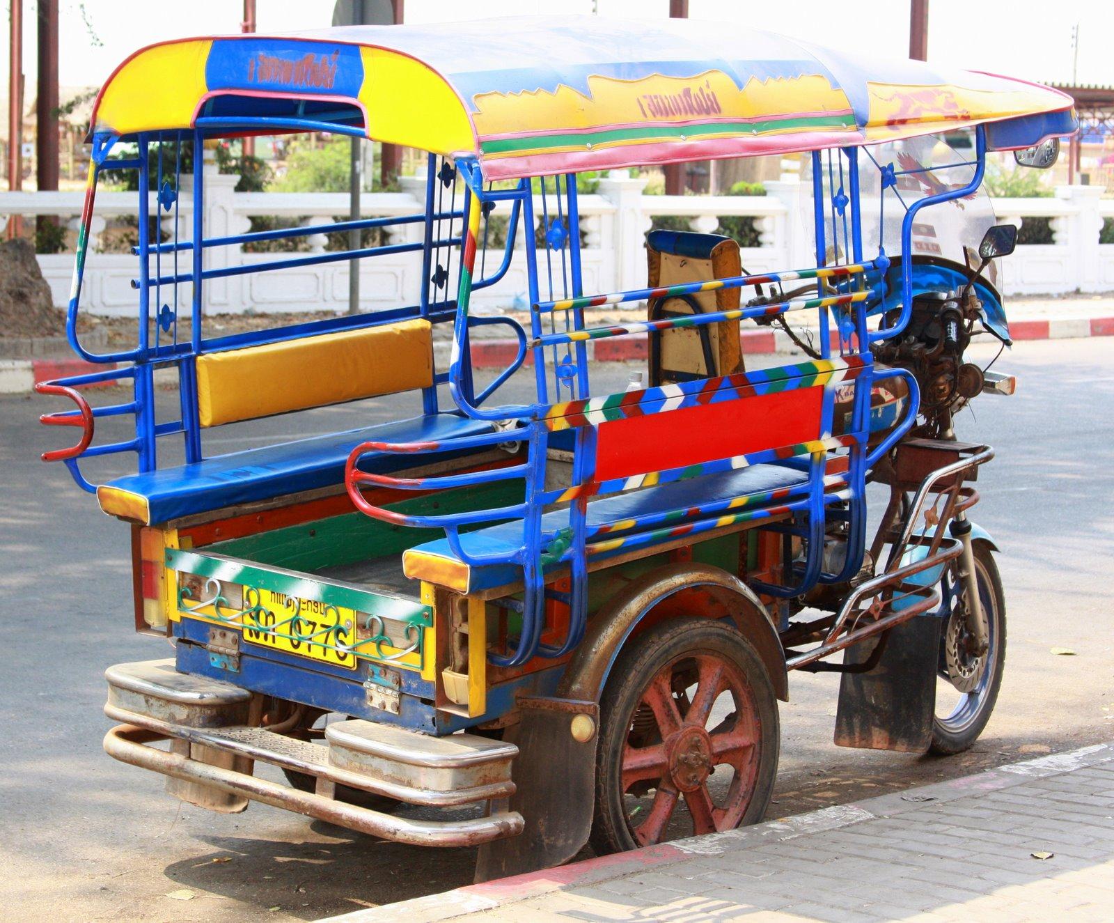 A Tuk tuk in Vientiane