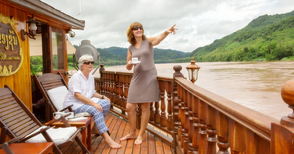 Leisurely trip on Mekong River Cruise