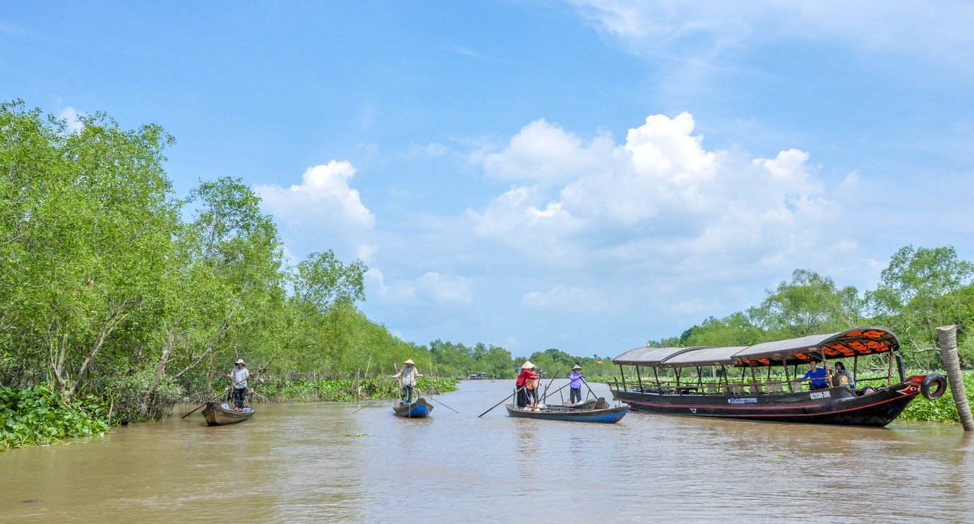 Mekong Delta is blessed with pleasant weather