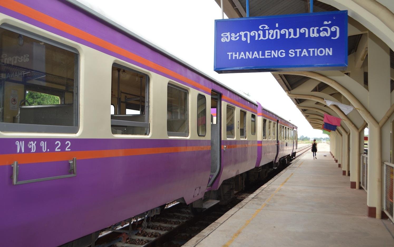 Overnight train from Bangkok to Laos