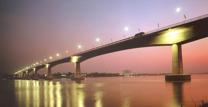 Thai - Laos Friendship Bridge No. 1
