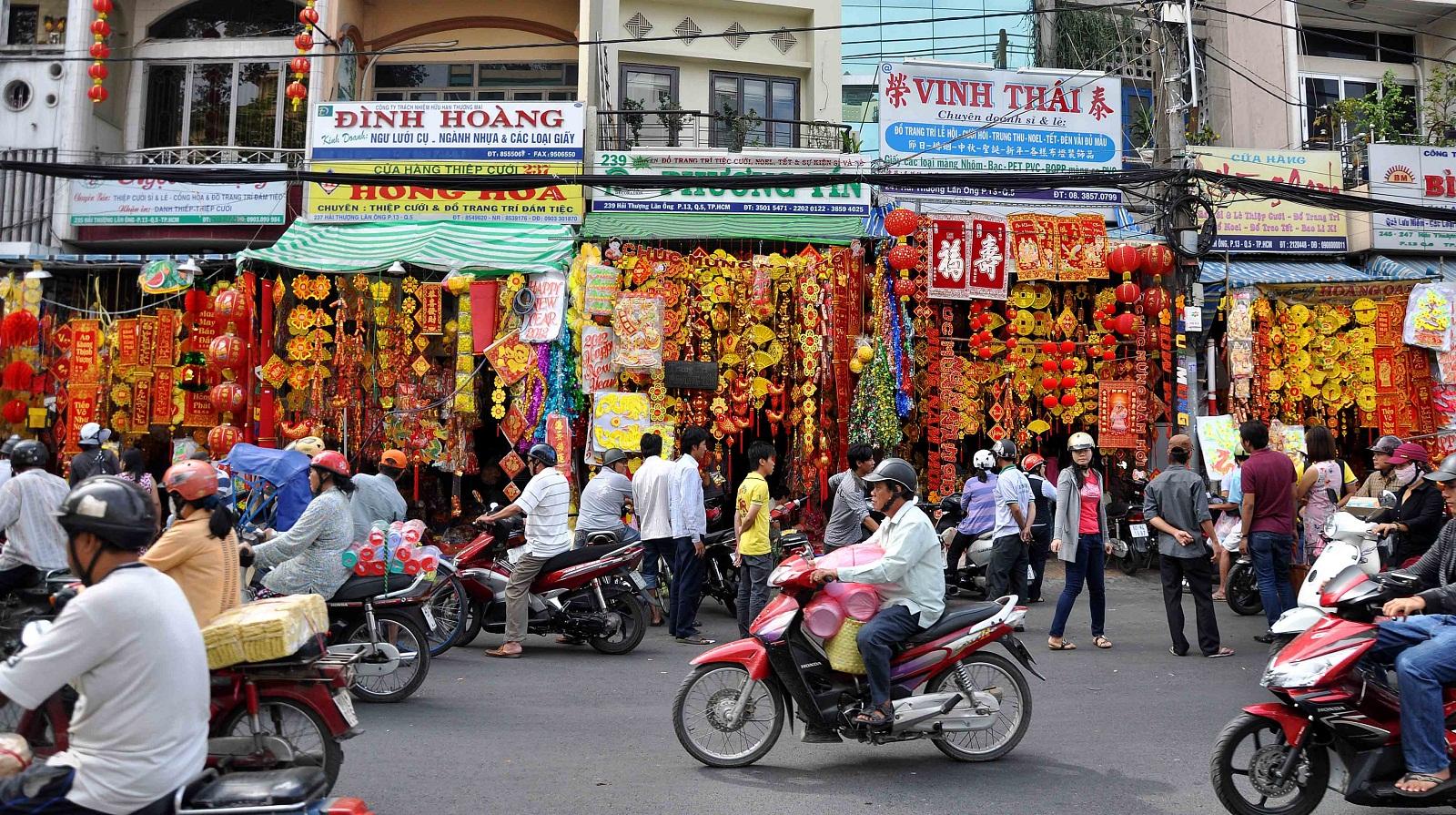 Street in Cholon - Saigon