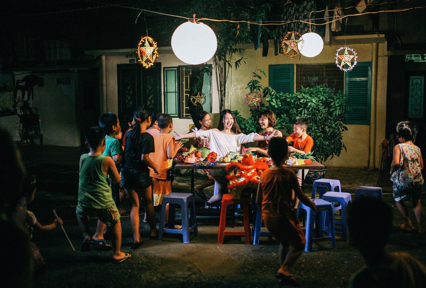 In Vietnam, Mid-Autumn Festival is traditional celebration for children
