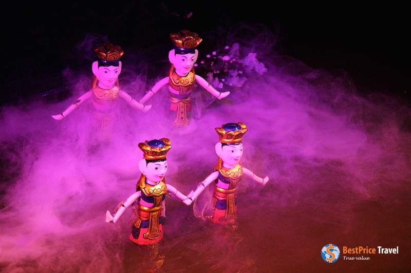 Water puppetry has been practiced in Vietnam for hundreds of years.