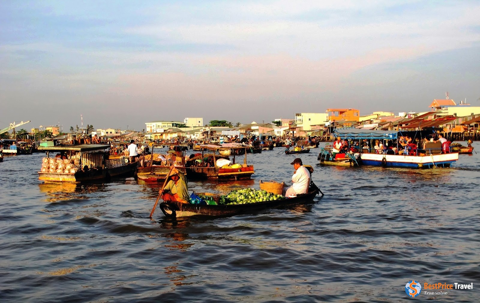 Trading on water - Vietnam Boat Trip
