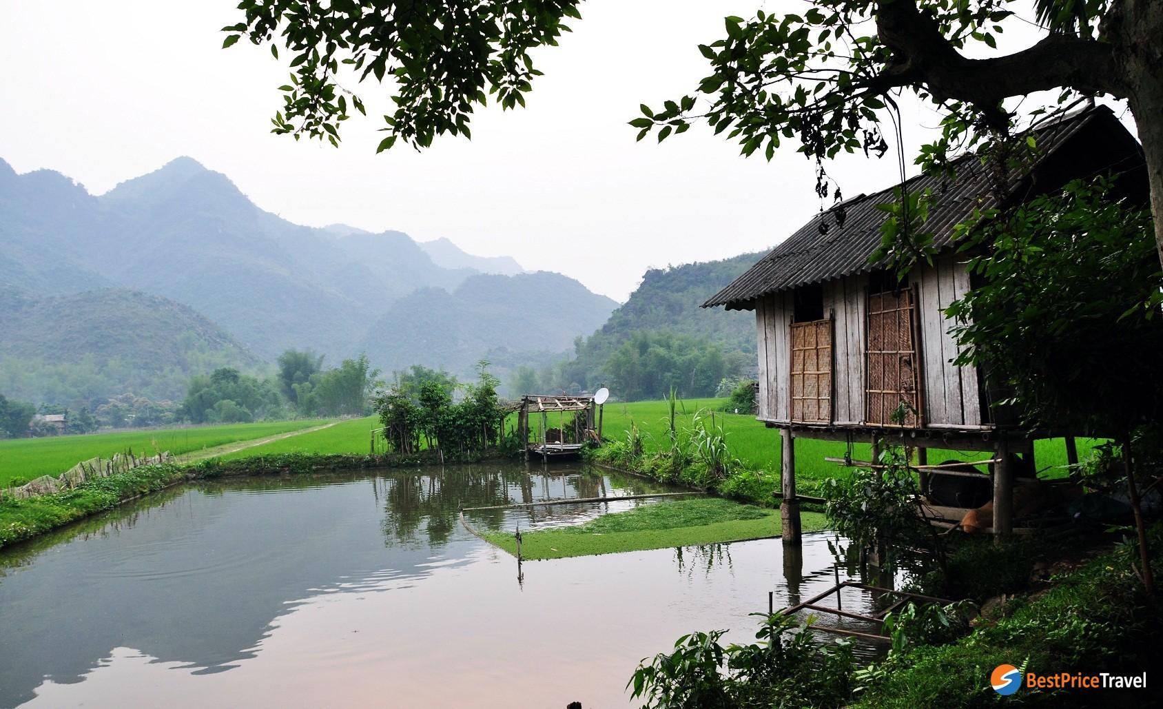 Pom Coong Village - rustic village in northern vietnam