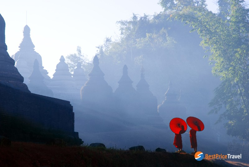 The lost city of Mrauk U - a mysterious place in myanmar