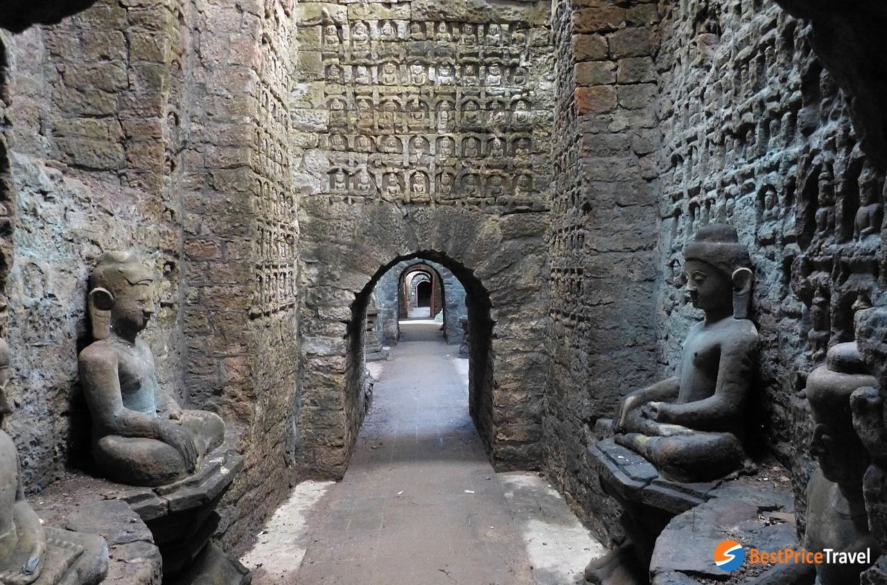 Inside Kothaung Temple