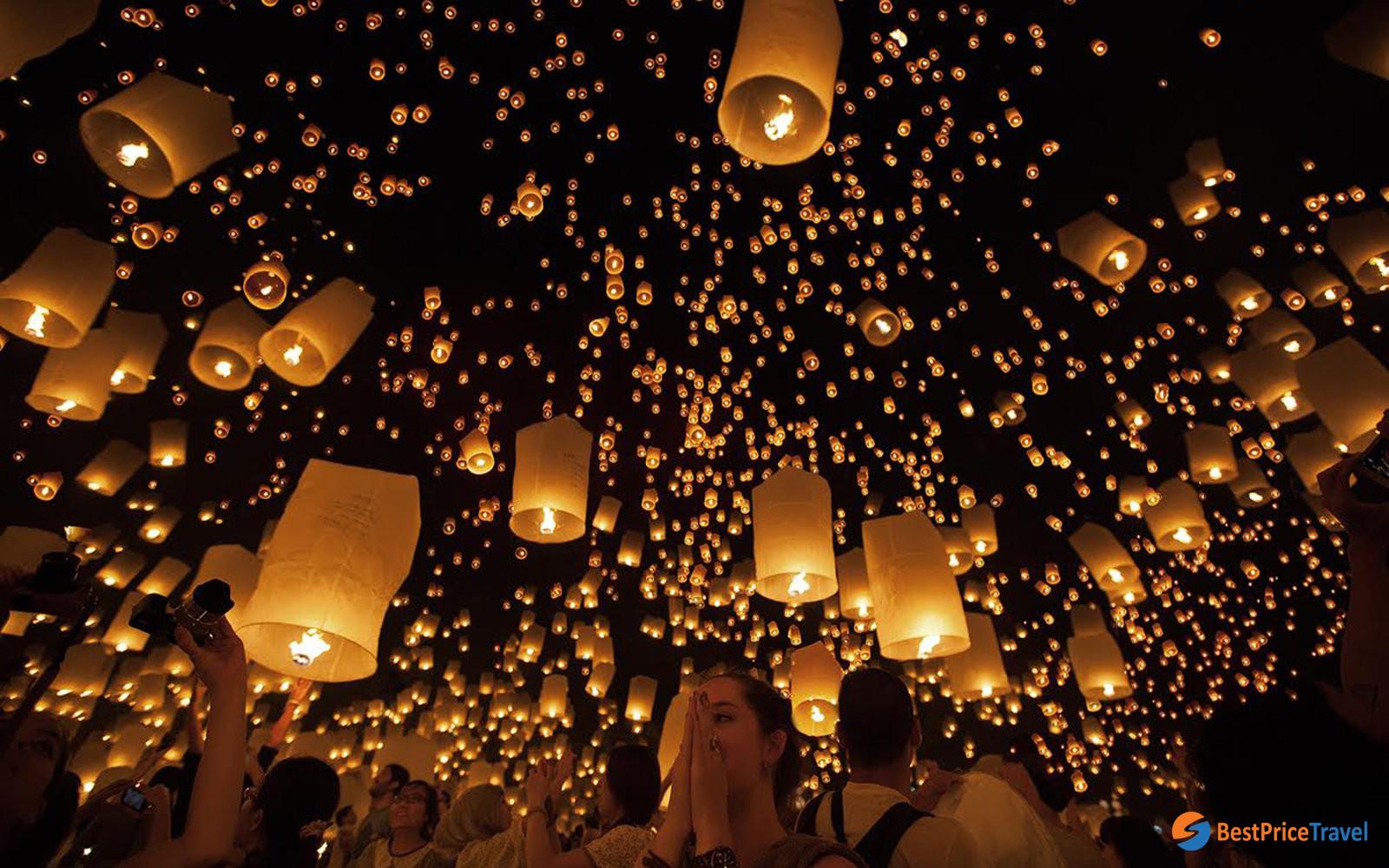 Loy Krathong And Yi Peng Thai S Light Festival Bestprice Travel