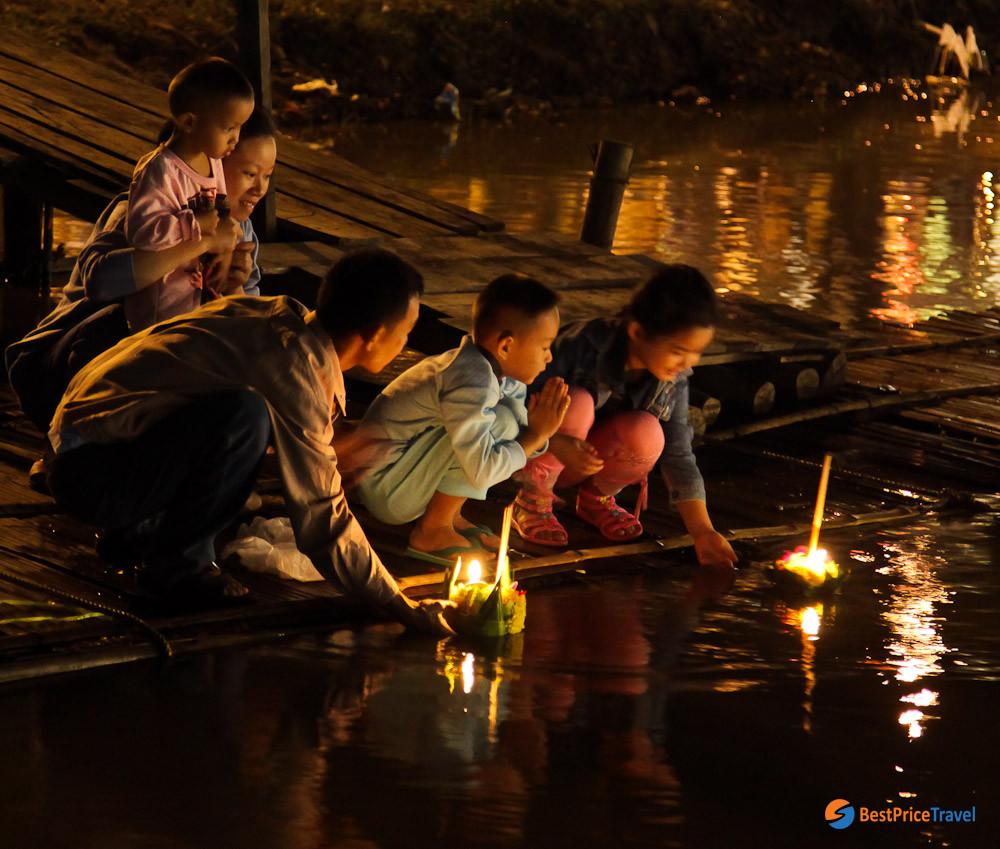 Light Festival in Thailand