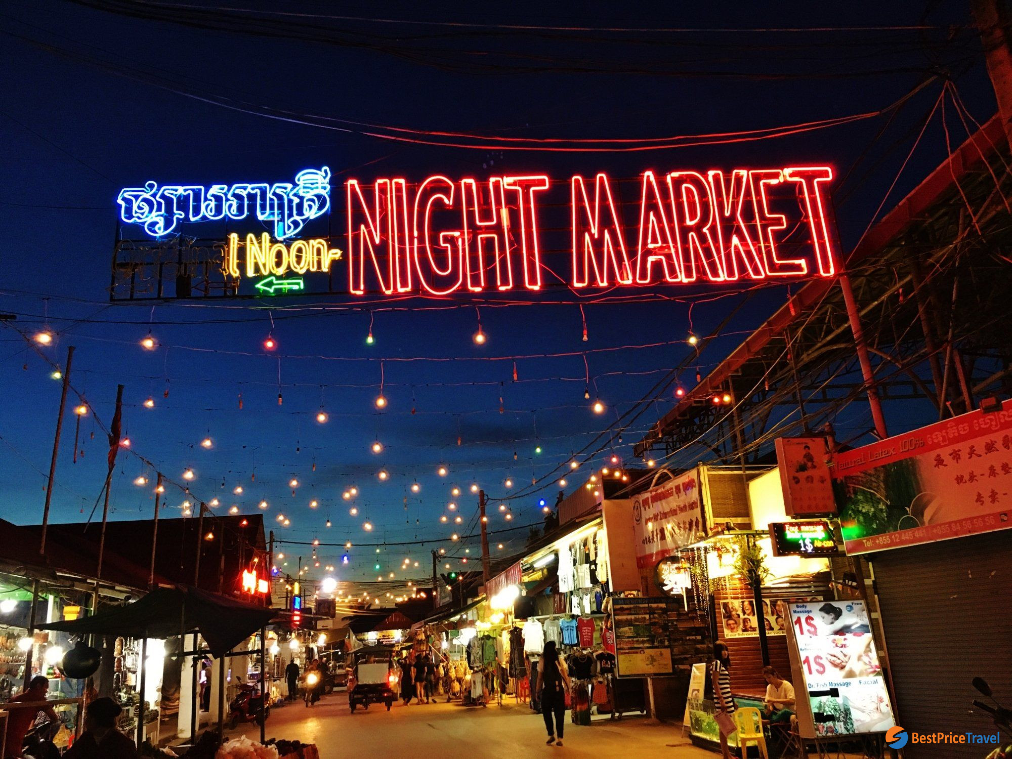 Angkor Night Market in Siem Reap -  5 Must-see Attractions in Indochina 2020