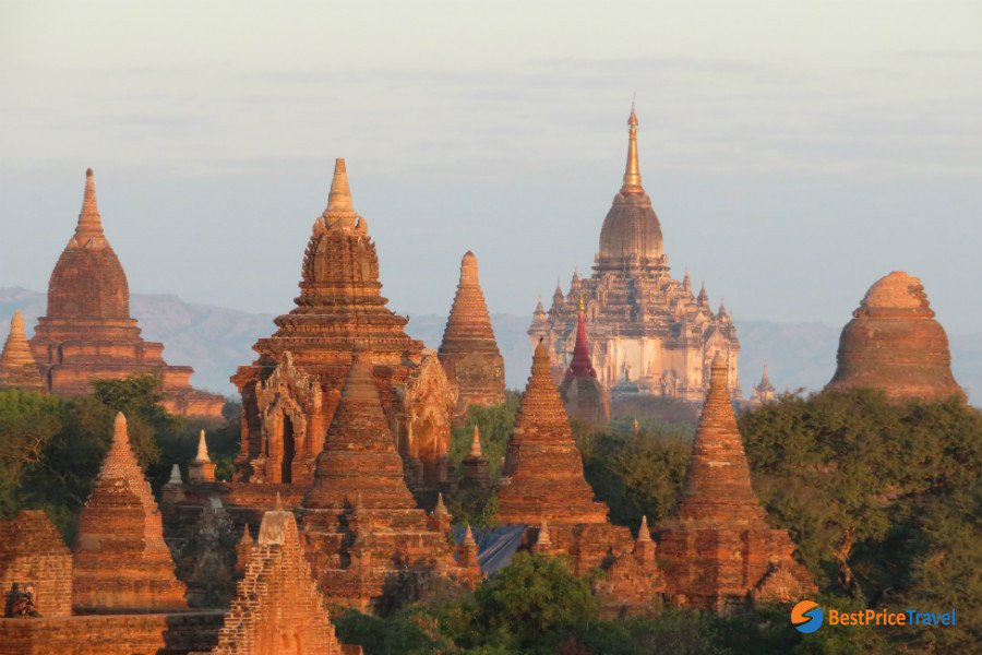Ancient Temples in Bagan -  5 Must-see Attractions in Indochina 2020