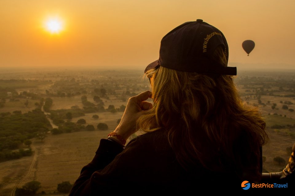 Sunset in Bagan -  5 Must-see Attractions in Indochina 2020