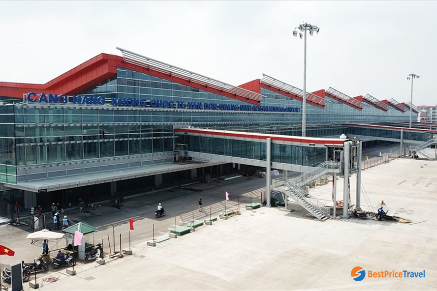 Van Don Airport newly opened