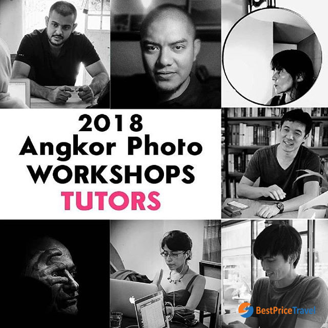 Angkor photo workshop tutors