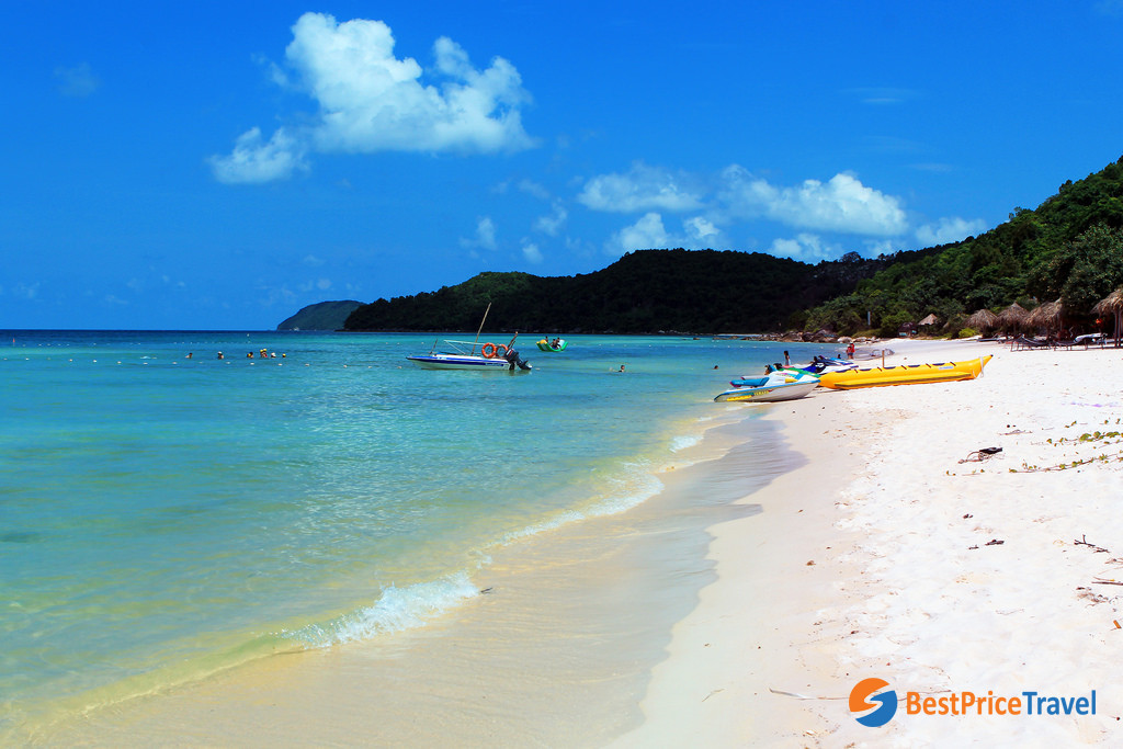 Sao Beach (Bai Sao), Phu Quoc Island - - Thing to do in Vietnam Christmas