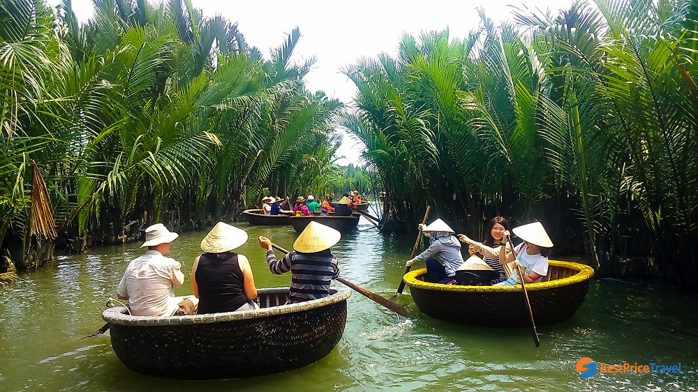 Rowing basket boat