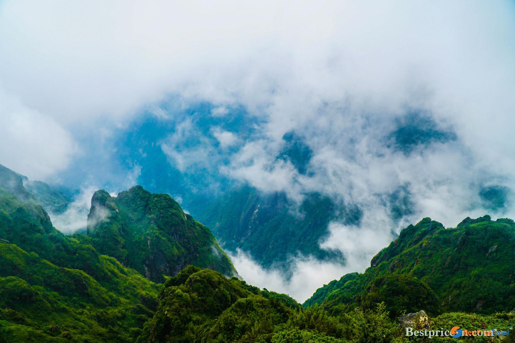 View from Fansipan Peak