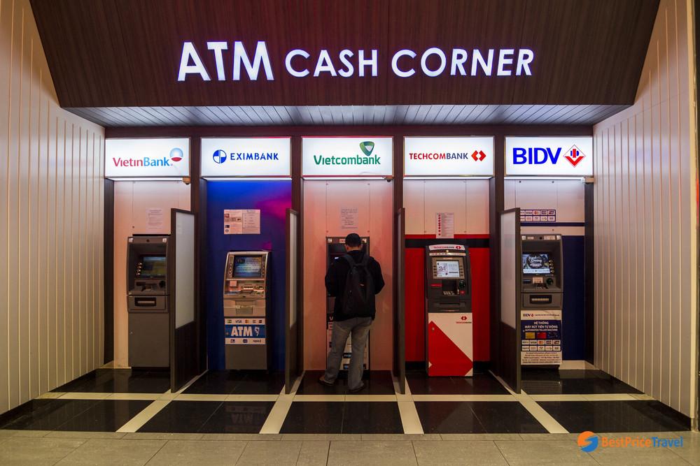 ATM in Hanoi