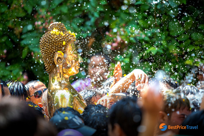 Songkran is the most exciting festival for tourists