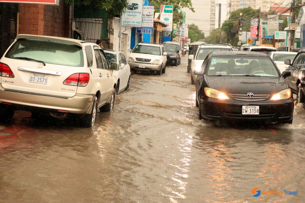 Cambodia in the wet season