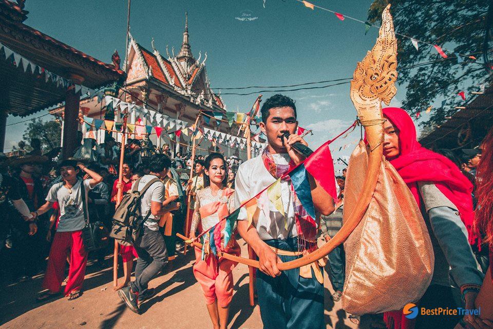 Cambodia Khmer new year