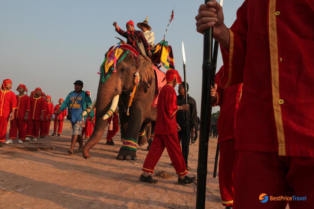 Elephant Festival in Laos