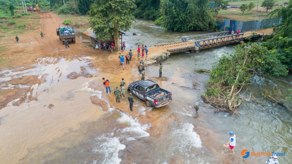 Laos in wet season