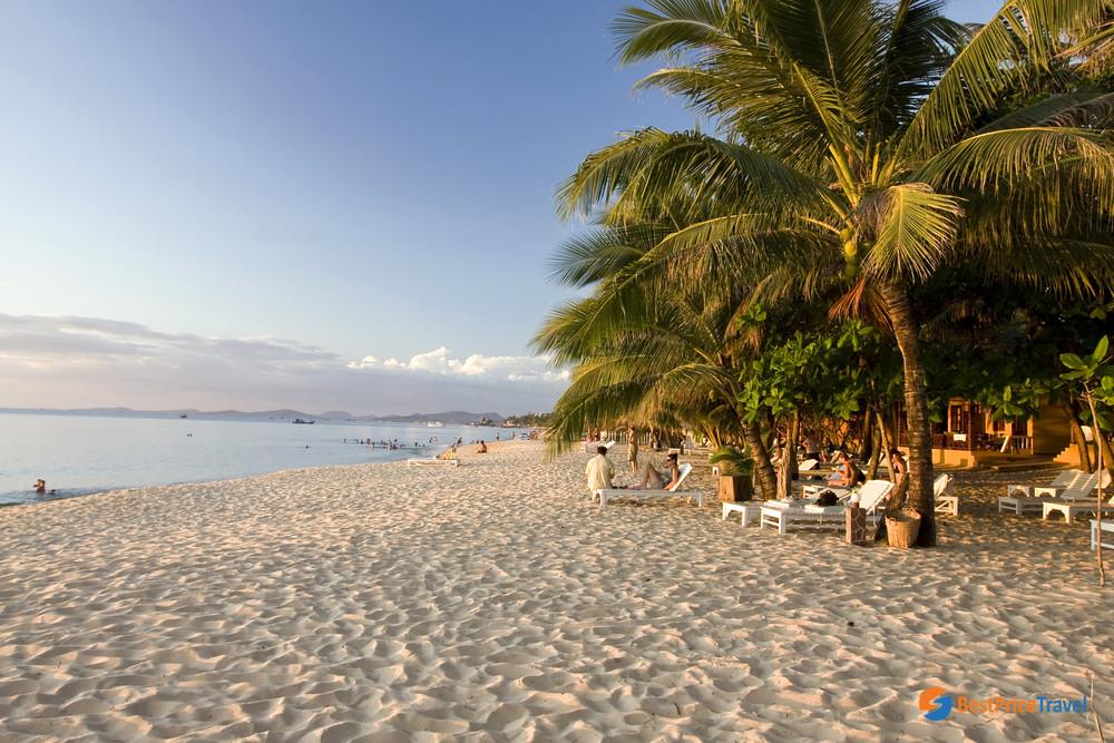 Beautiful Sao Beach in Phu Quoc