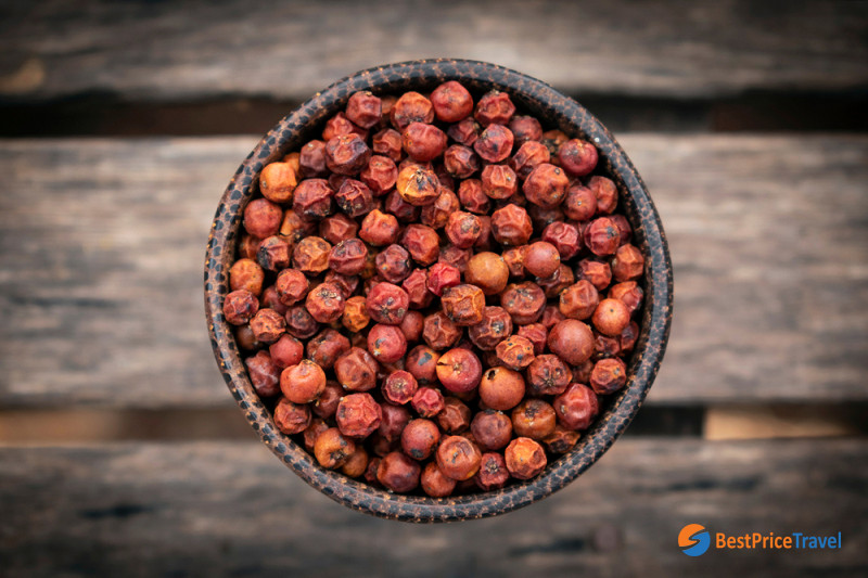 Cambodia Kampot Red Pepper - interesting spices buy from Cambodia