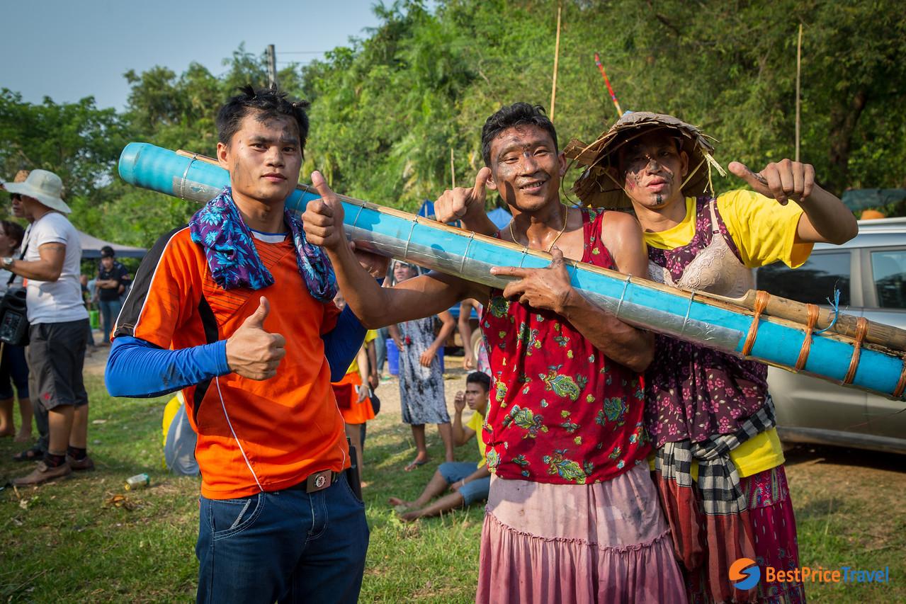Villagers Hope For Rain