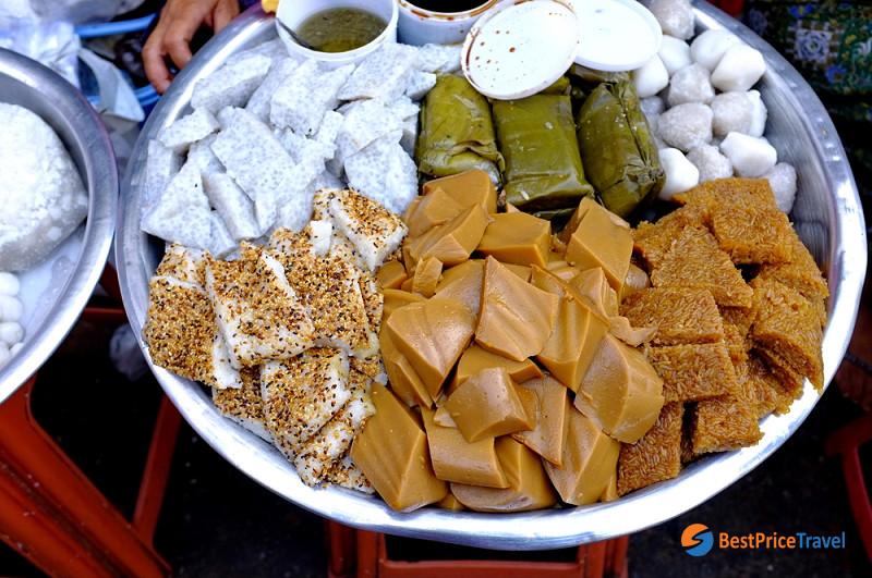 Burmese Sweet Snacks