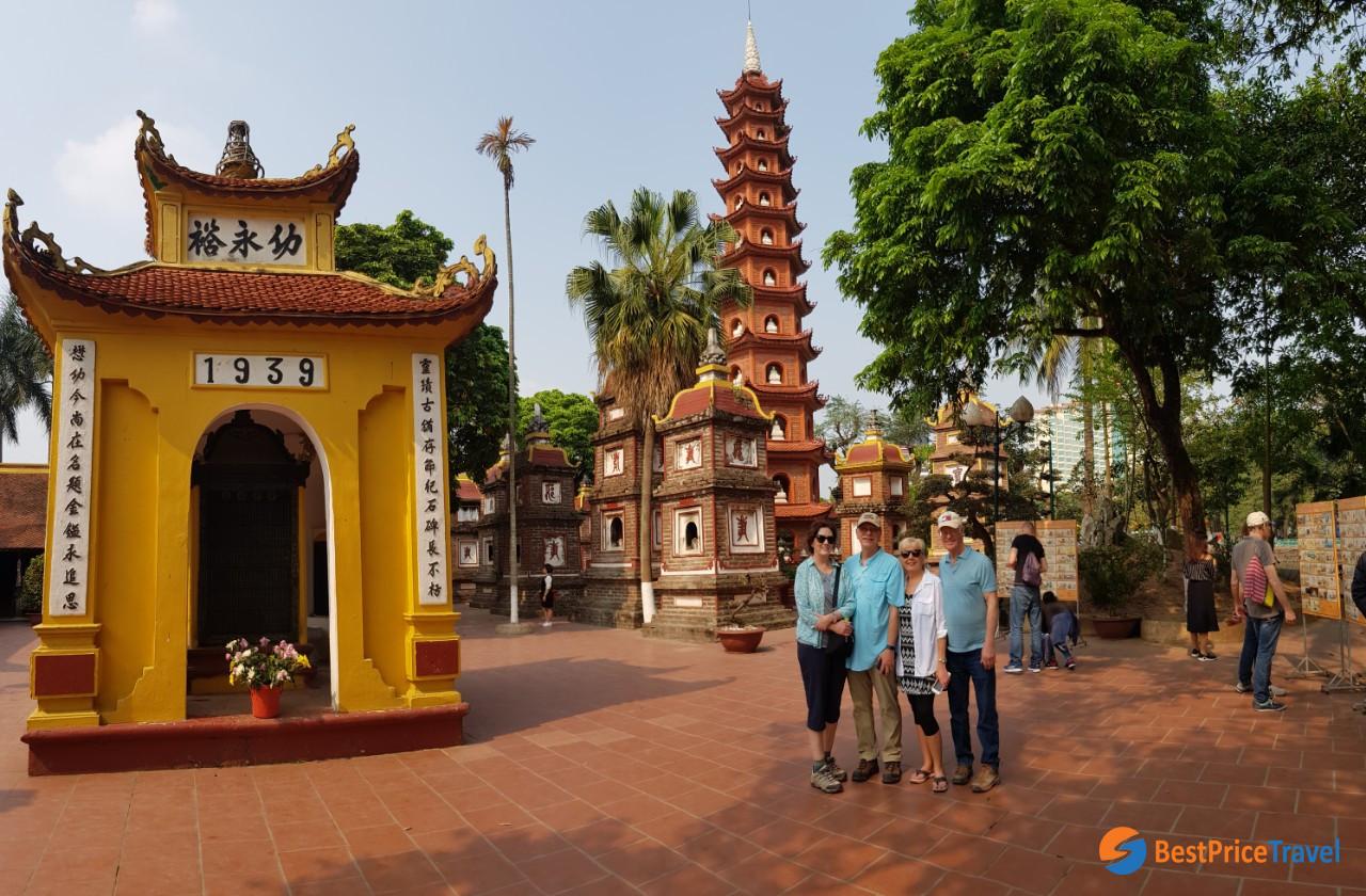 Visit Tran Quoc Pagoda
