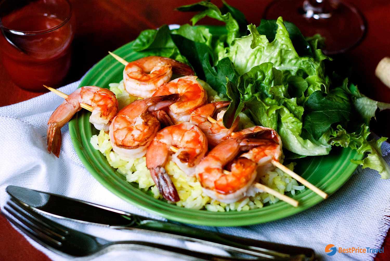 Tasty vegan food - Halal Food In Halong Bay