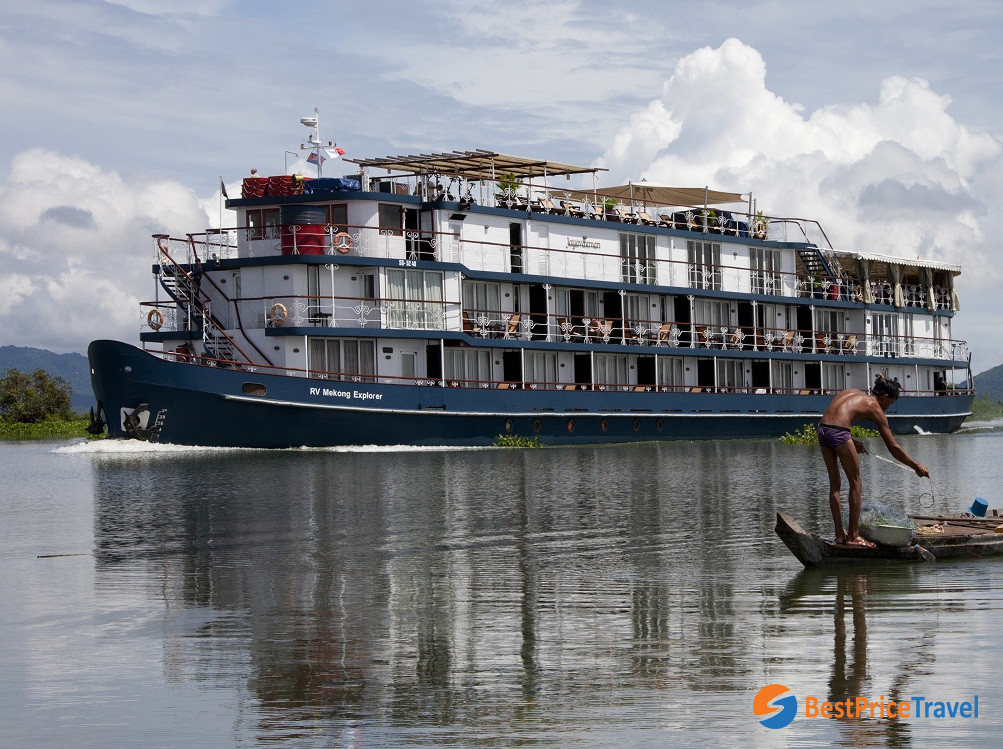Cruise offers journey between Vietnam & Cambodia