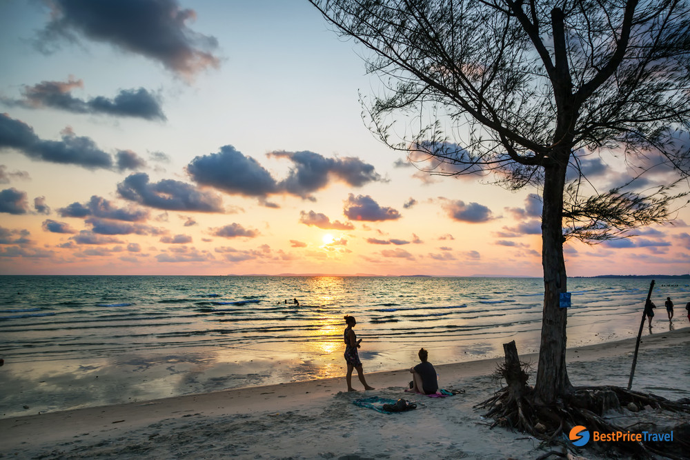The unspoiled beauty of Otres Beach - perfect attraction for summertime in Cambodia