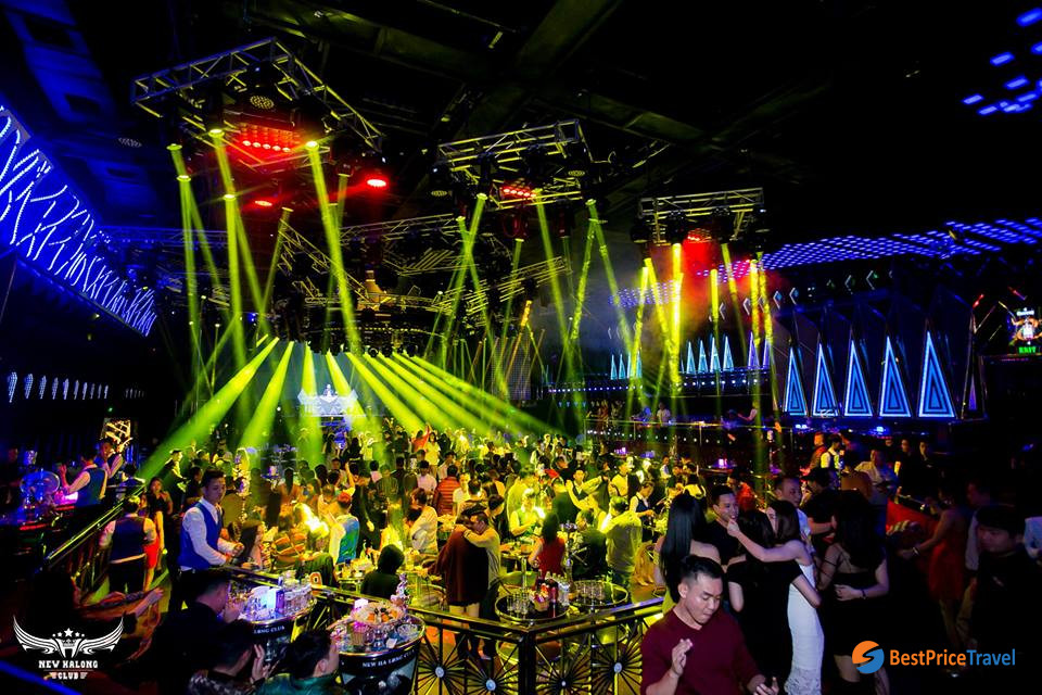 Nightlife Activities in Halong Bay in New Halong club