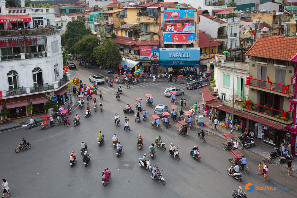 Hanoi city tour instead of Halong Bay cruise