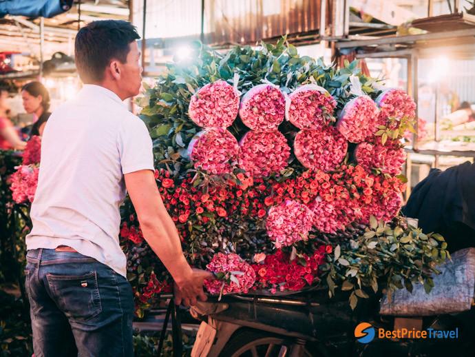 Best of Inspirational Ideas about Hanoi Street Photography -  Quang Ba Flower Market
