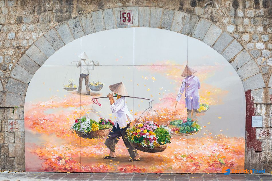 Best of Inspirational Ideas about Hanoi Street Photography -  Phung hung Mural Street