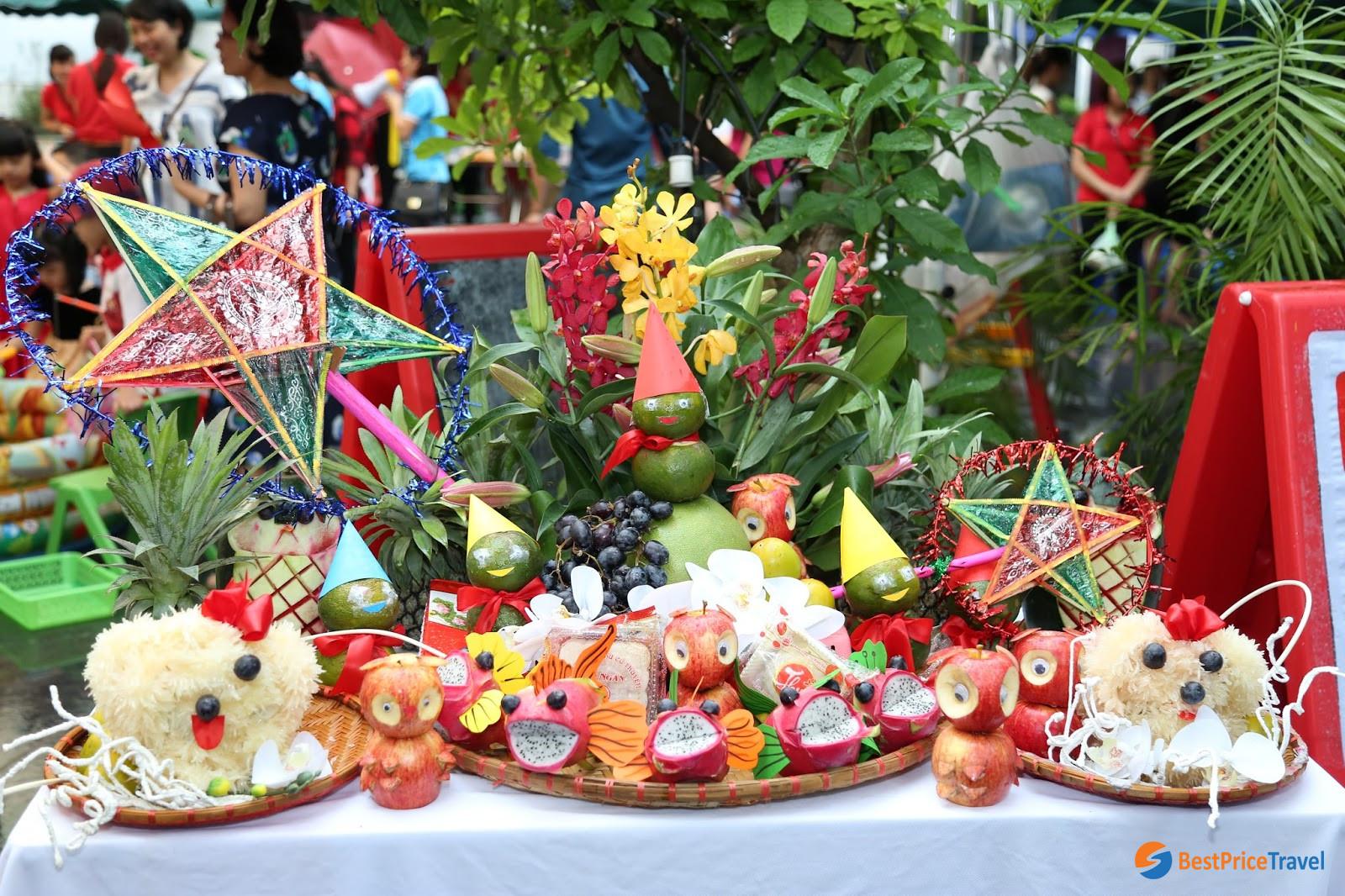 Ngu Qua Tray - Mid-Autumn Festival
