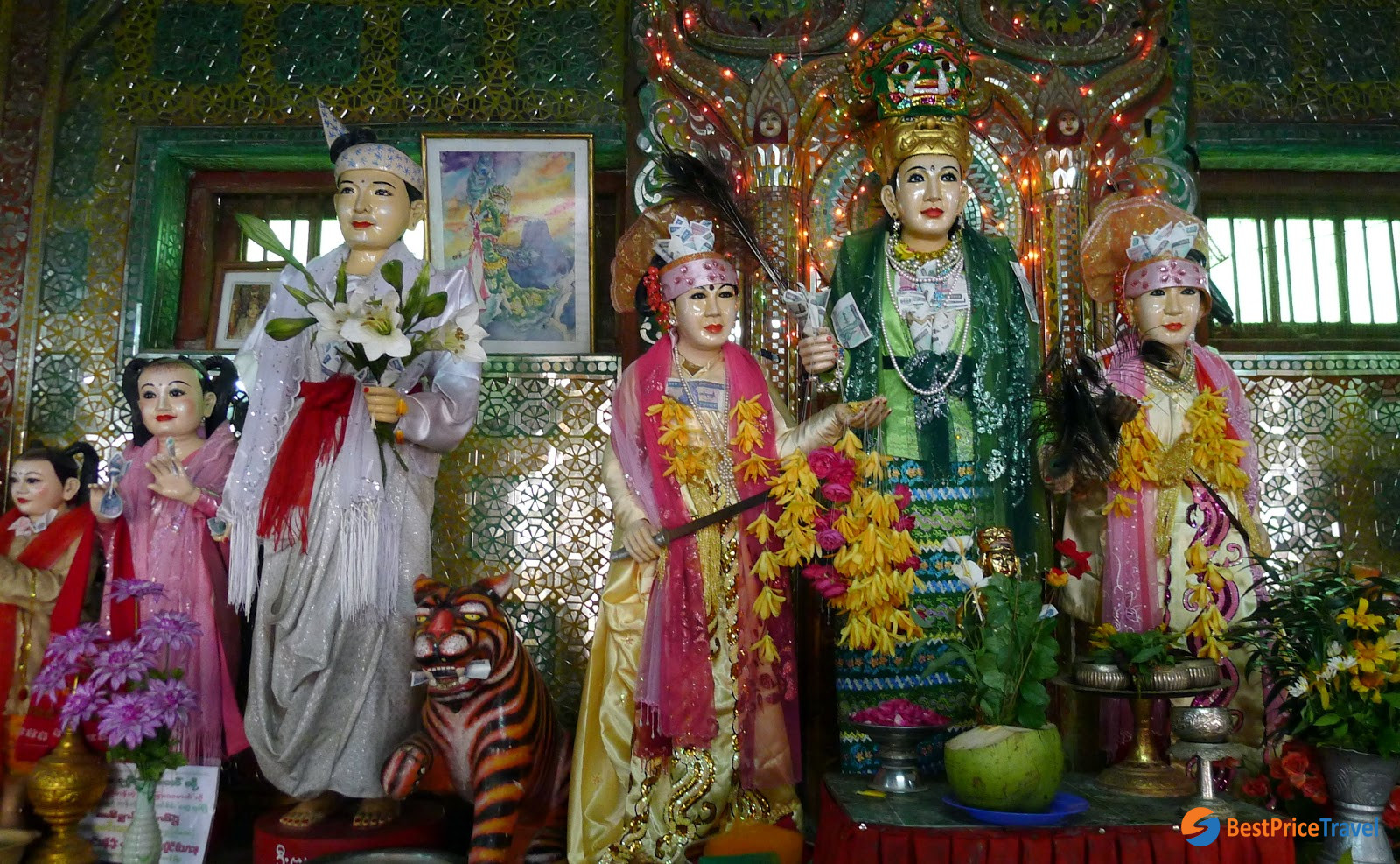 Nat's Wife - Taungbyone Nat Festival in Myanmar
